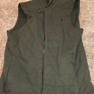 Ralph Polo Lauren Handsome Green Vest